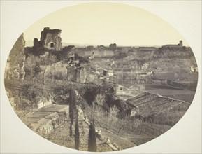 Palace of the Caesars on the Palatine, 1860. Creator: Robert MacPherson.