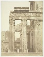 Roman Forum, Antonio and Faustina, c. 1857. Creator: Robert MacPherson.