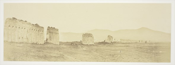 Untitled (Ruins of an Aqueduct), c. 1857. Creator: Robert MacPherson.