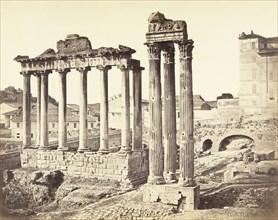 Untitled (Ruins of Roman Forum), c. 1867. Creator: Robert MacPherson.