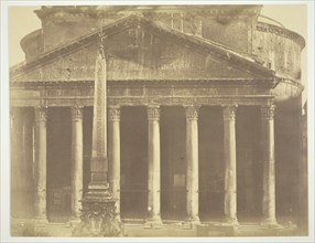 Pantheon, Rome, Italy. c. 1857. Creator: Robert MacPherson.