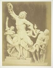 Untitled (Statue of the Laocoon), c. 1857. Creator: Robert MacPherson.