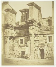 Untitled (Temple of Minerva), c. 1857. Creator: Robert MacPherson.