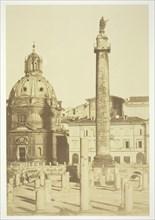 Untitled (Trajan's Column), c. 1857. Creator: Robert MacPherson.