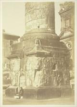 Untitled (Trajan's Column, Base), c. 1857. Creator: Robert MacPherson.