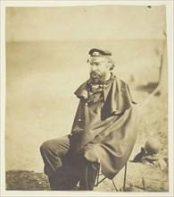 Archibald Gordon (1812-1886), Principal Medical Officer at the Crimea; Taken at the Crimea, 1855. Creator: Roger Fenton.