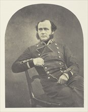 Major Gen'l Charles Ashe Windham, 1855. Creator: Roger Fenton.