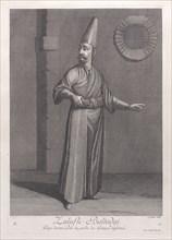 Zulufli-Baltadgi, Page destiné pour la garde des Princes enfermés, 1714-15., Creator: Unknown.