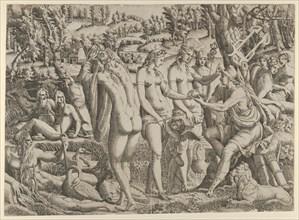 The Judgment of Paris, 1535-55. Creator: Jean Mignon.
