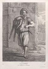 Leventi, ou Soldat de Marine, 1714-15. Creator: Unknown.