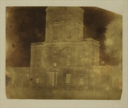 Base of Radcliffe Library, Oxford, July 29, 1842. Creator: William Henry Fox Talbot.