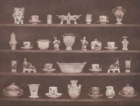 Articles of China, 1843/44. Creator: William Henry Fox Talbot.