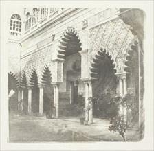 Alcazar de Seville, c. 1853/58. Creator: William Henry Fox Talbot.
