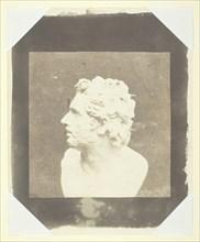 Bust of Patroclus, August 9, 1843. Creator: William Henry Fox Talbot.