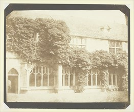 Cloisters of Lacock Abbey, c. 1841/44. Creator: William Henry Fox Talbot.