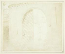 Entrance Gate, Abbotsford, 1844. Creator: William Henry Fox Talbot.