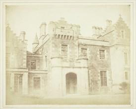 Hall Door, Abbotsford, 1844. Creator: William Henry Fox Talbot.