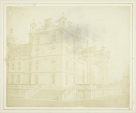 Heriot's Hospital, Edinburgh, 1844. Creator: William Henry Fox Talbot.