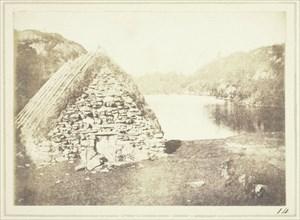 Highland Hut on the Banks of Loch Katrine, 1844. Creator: William Henry Fox Talbot.