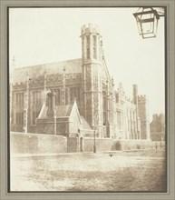 New Hall of Lincoln's Inn, London, c. 1841/46. Creator: William Henry Fox Talbot.