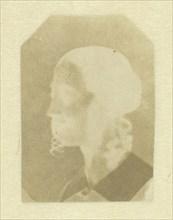 Portrait of Talbot's Wife (Constance) or Half-Sister (Caroline or Horatia), c. 1842. Creator: William Henry Fox Talbot.
