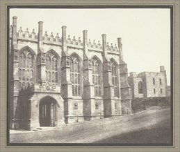 St. George's Chapel, Windsor, c. 1843/47. Creator: William Henry Fox Talbot.