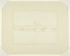 The Bridge of Orleans, June 1843. Creator: William Henry Fox Talbot.