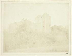 The Castle of Doune, 1844. Creator: William Henry Fox Talbot.