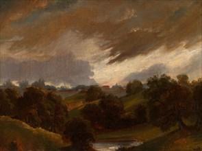 Hampstead, Stormy Sky, 1814. Creator: Unknown.