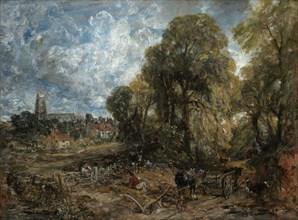 Stoke-by-Nayland, 1836. Creator: John Constable.