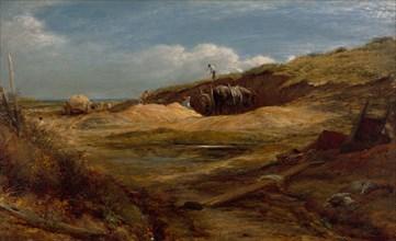 The Sand Pits, Hampstead Heath, 1834. Creator: John Linnell.
