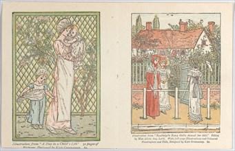 Valentine, 1882. Creator: Catherine Greenaway.