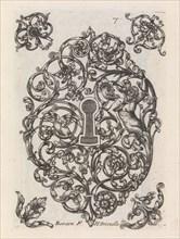 Diverses Pieces de Serruriers, page 8 (recto), ca. 1663. Creator: Jean Berain.