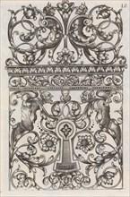 Diverses Pieces de Serruriers, page 11 (recto), ca. 1663. Creator: Jean Berain.