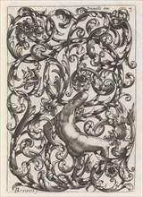 Diverses Pieces de Serruriers, page 4 (recto), ca. 1663. Creator: Jean Berain.