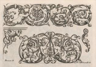 Diverses Pieces de Serruriers, page 7 (recto), ca. 1663. Creator: Jean Berain.