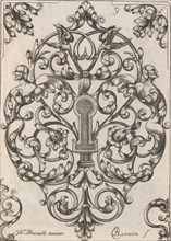 Diverses Pieces de Serruriers, page 10 (recto), ca. 1663. Creator: Jean Berain.