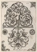 Diverses Pieces de Serruriers, page 13 (recto), ca. 1663. Creator: Jean Berain.