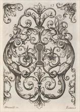 Diverses Pieces de Serruriers, page 14 (recto), ca. 1663. Creator: Jean Berain.