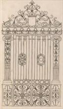 Diverses Pieces de Serruriers, page 17 (recto), ca. 1663. Creator: Jean Berain.
