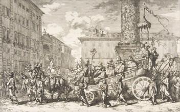 The Chinese Masquerade (La Mascarade chinoise), 1735. Creator: Jean-Baptiste-Marie Pierre.