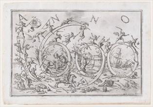 'Anno 1690' (the Year 1690)..., ca. 1690. Creator: Giuseppe Maria Mitelli.