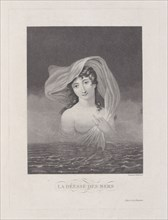 La Déesse des Mers, 1775-1832. Creator: Philibert Louis Debucourt.