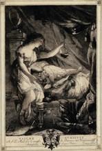 Curious Psyche, mid-1770s. Creator: Giovanni David.