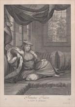 Femme Juive, en habit de cèrèmonie, 1714-15. Creator: Unknown.