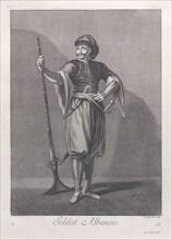 Soldat Albanois, 1714-15. Creator: Unknown.