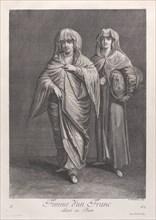 Femme d'un Franc, allant au Bain, 1714-15. Creator: Unknown.