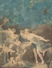 La Fontaine d'Amour, late 18th century. Creator: Jean-Baptiste Audebert.