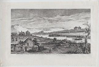 View of the Madrid Castle, near Paris, 1764. Creator: Jean-Jacques de Boissieu.