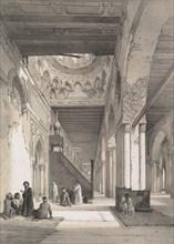 12. Intérieur, Mosquée d'Ibn Toûloûn, 1843. Creator: Joseph Philibert Girault De Prangey.